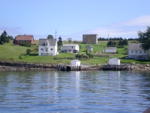 Downtown Tancook Island