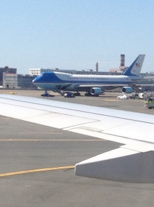 Air Force 1 in Boston